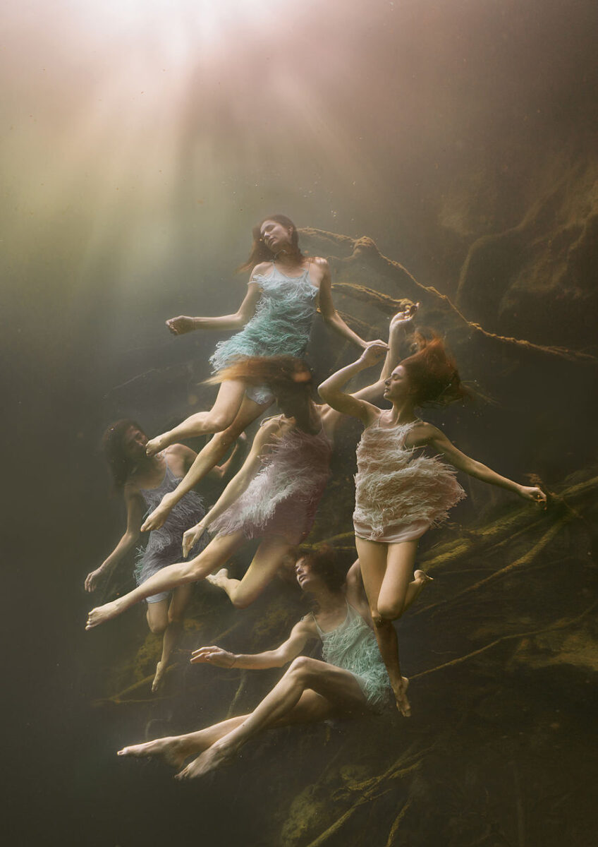 Lexi Laine Cardumen underwater photography