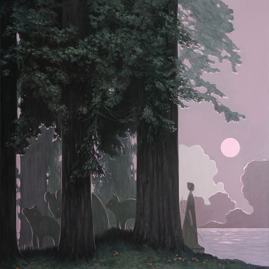 Where Redwoods Meet the Sea by Amy Sol for Thinkspace Projects
