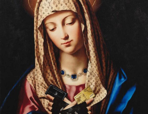 Antonio Del Prete Madonna Mary portrait