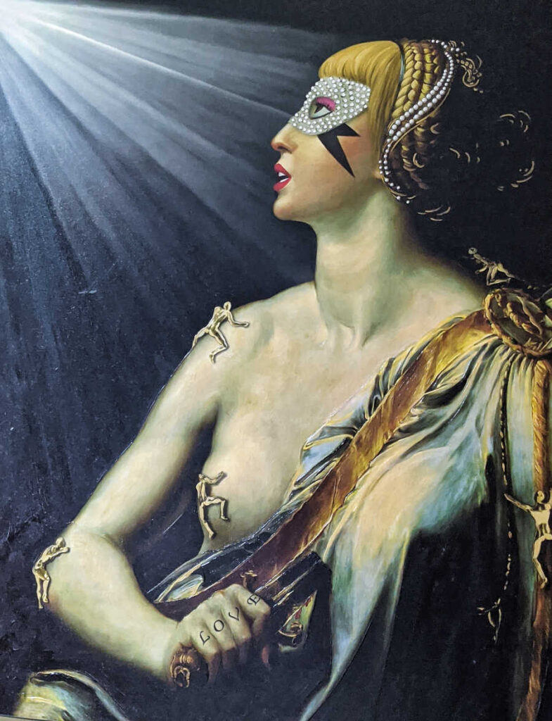 Antonio Del Prete classical Lucrezia painting