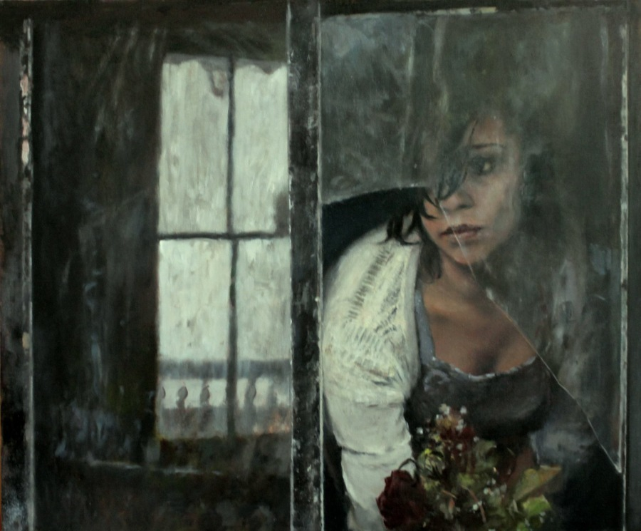 Julyan Davis Contemporary Portrait of Woman