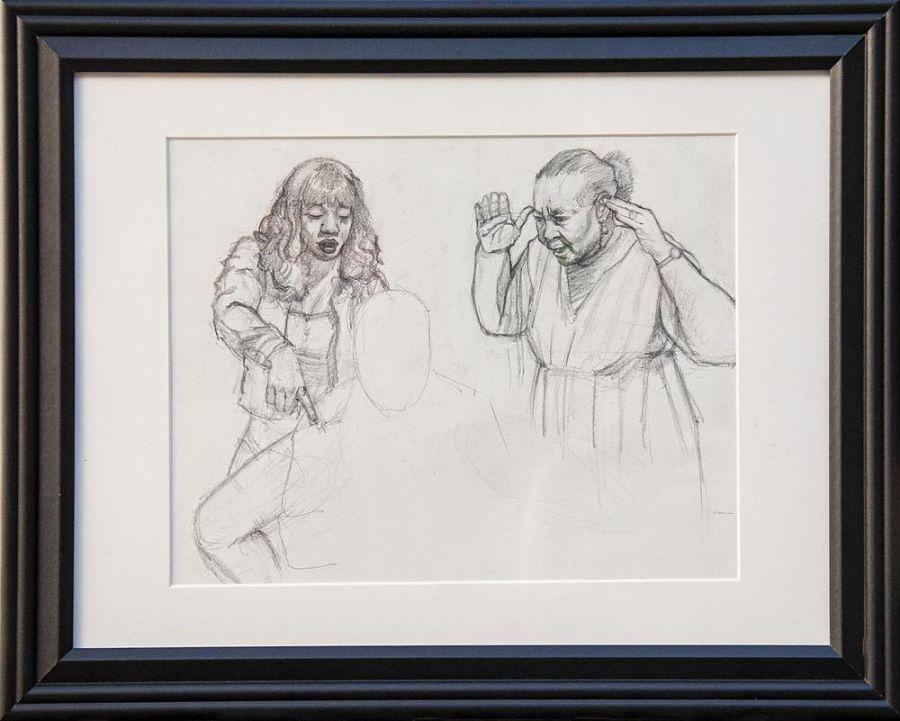 Loneschach drawing The Dark Art Emporium