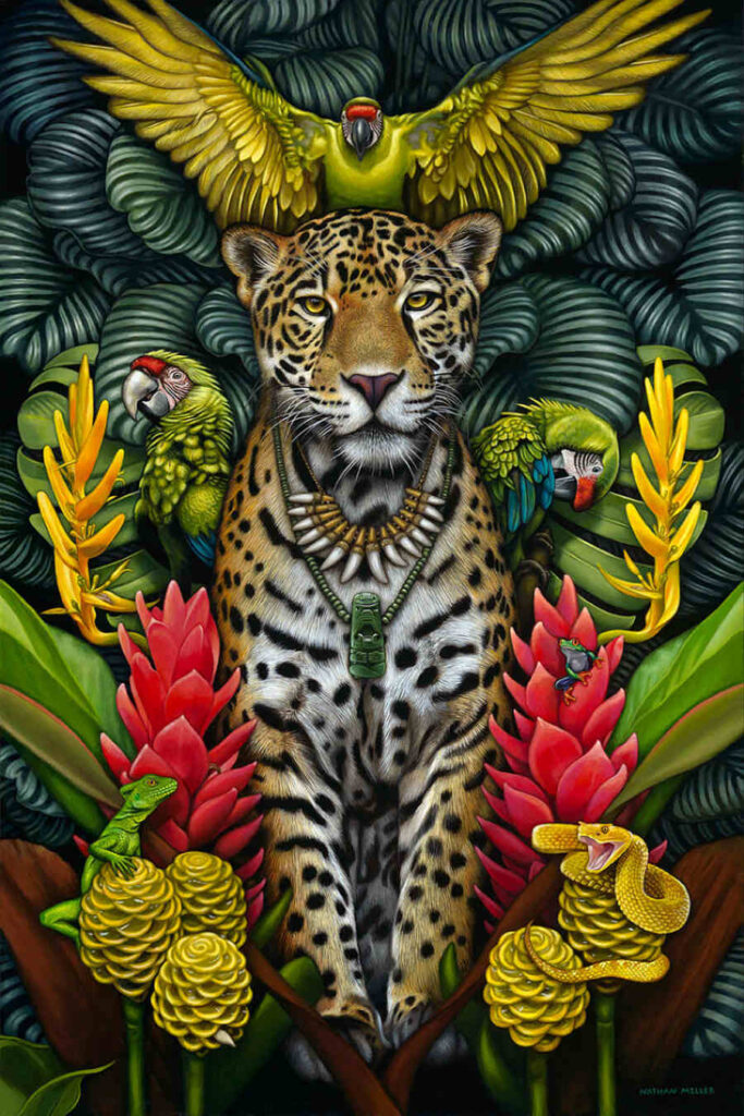 nathan miller fine art the legend of the jaguar shaman