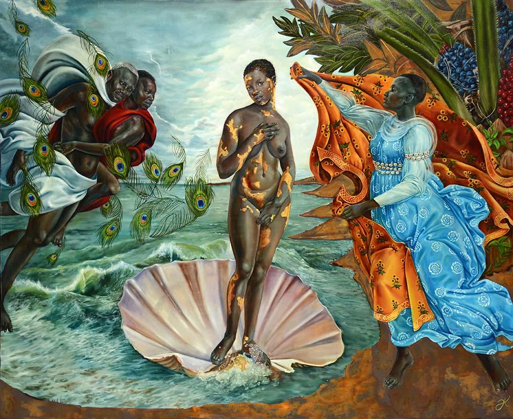 Harmonia Rosales contemporary Venus figurative art