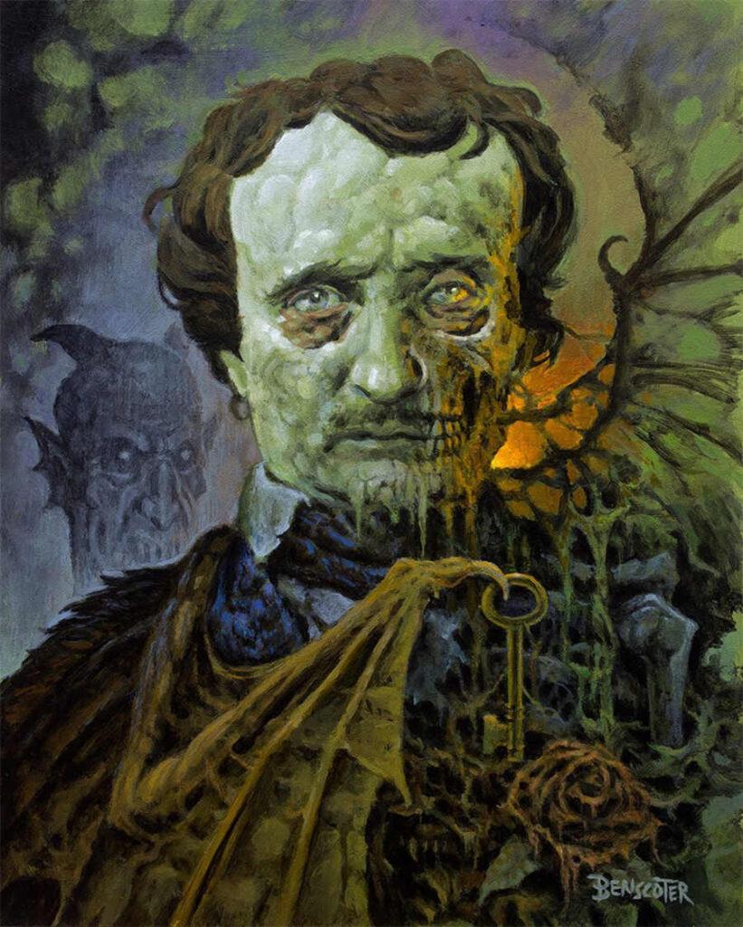 Wes Benscoter Edgar Allen Poe