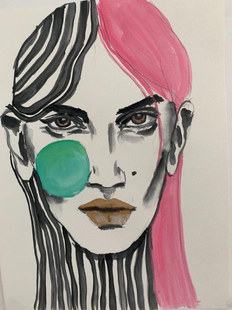 Ana Sneeringer Woman Portrait
