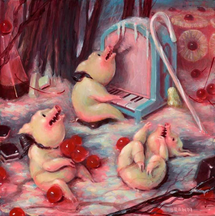 Brandi Milne Acrylic Painting