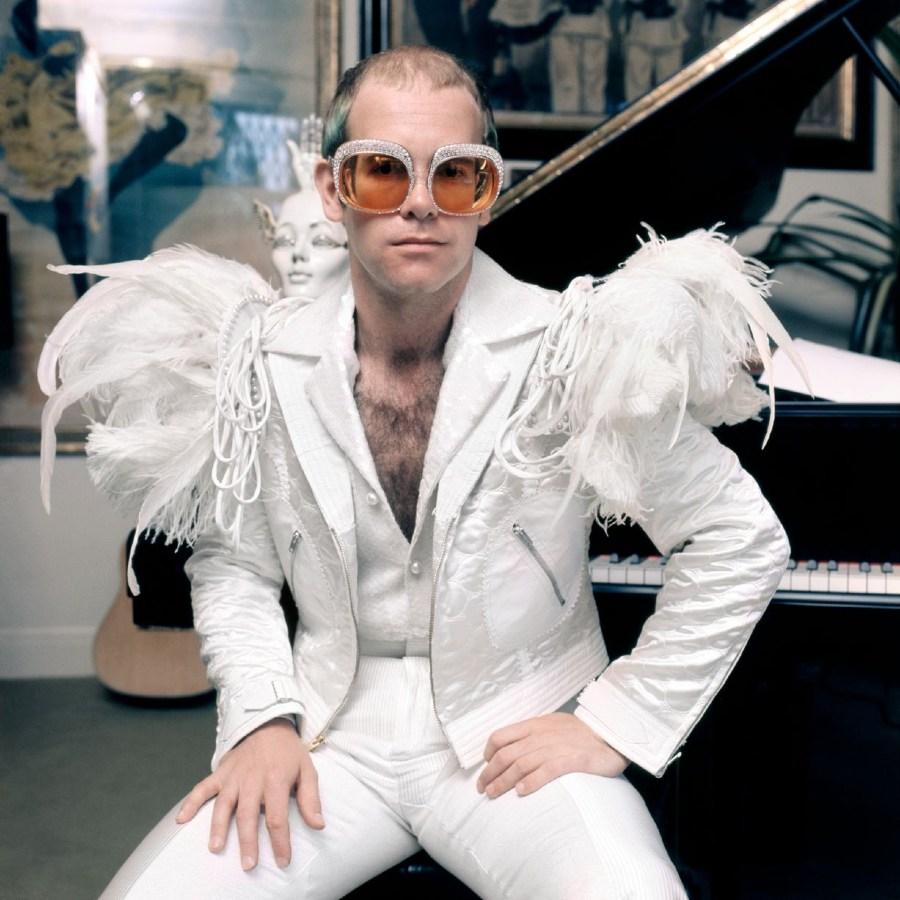 Elton John Photograph 1970s