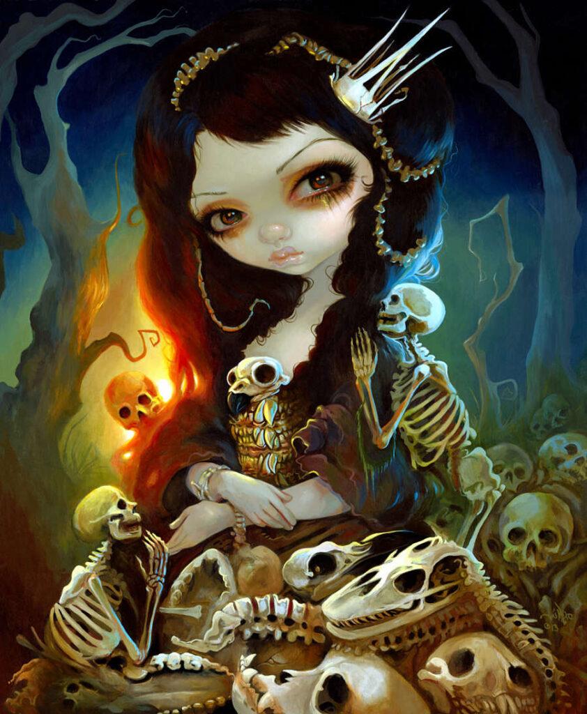 """Princess of Bones"". Jasmine Becket-Griffith Artisan Showcase at ""Celebrate HER Story"""