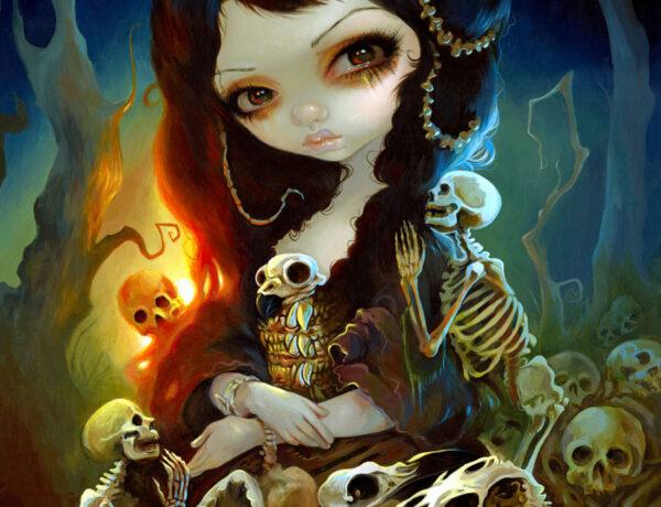 Jasmine-Becket-Griffith-skull
