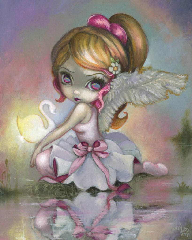 Jasmine-Becket-Griffith-white-swan