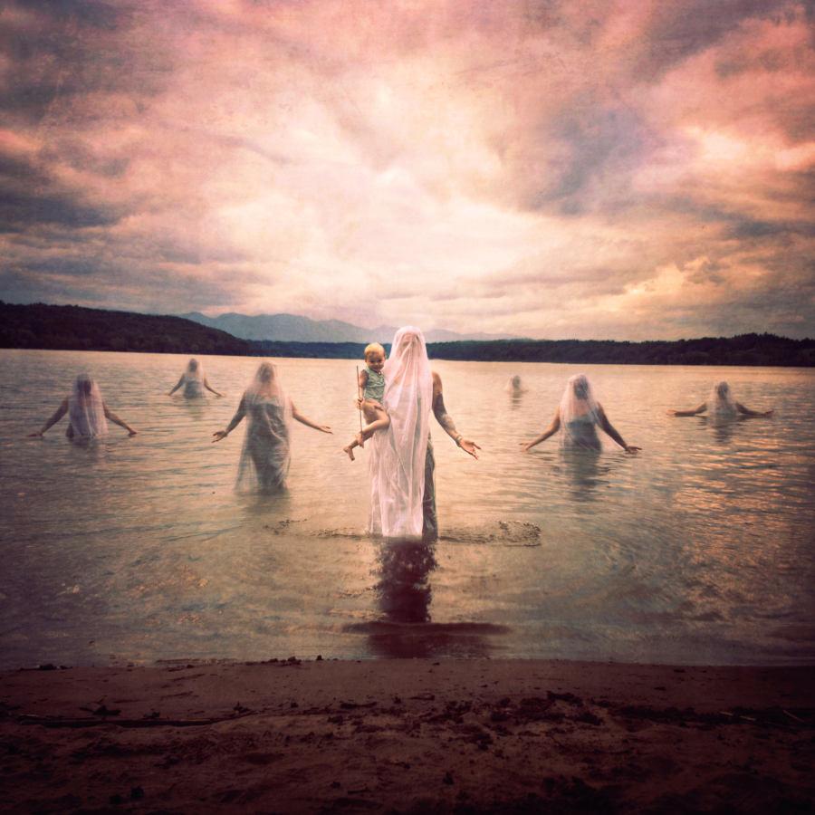 Ken Kiaba surreal lake photograph