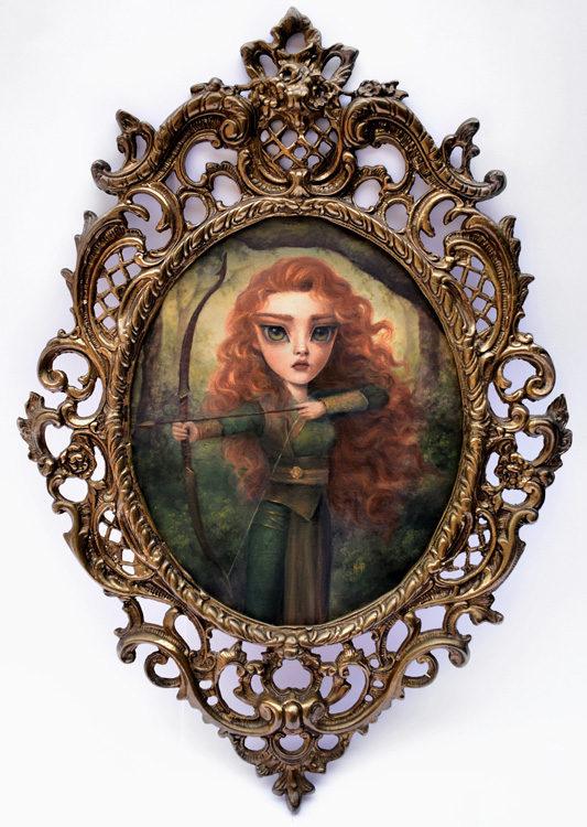 Karla-Pereira framed pop art