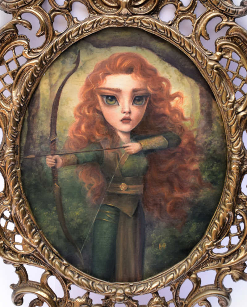 Karla Pereira red hair warrior princess