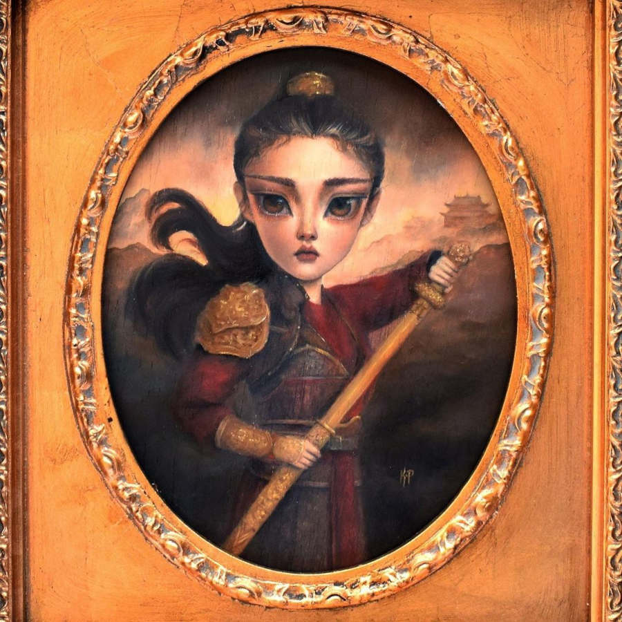 Karla-Pereira Mulan warrior princess