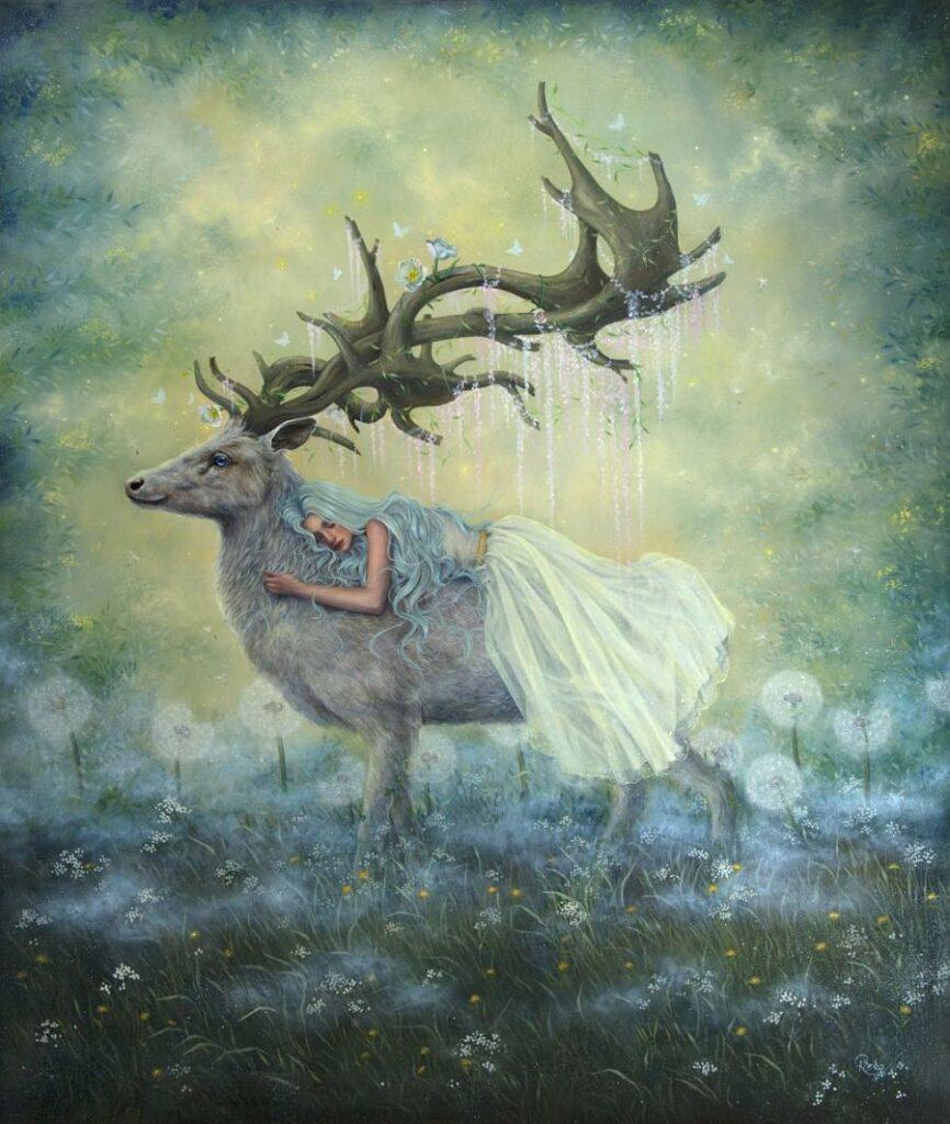 Kseniia Boko painting