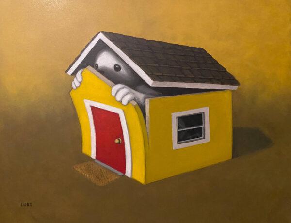 Luke Chueh Agoraphobia house