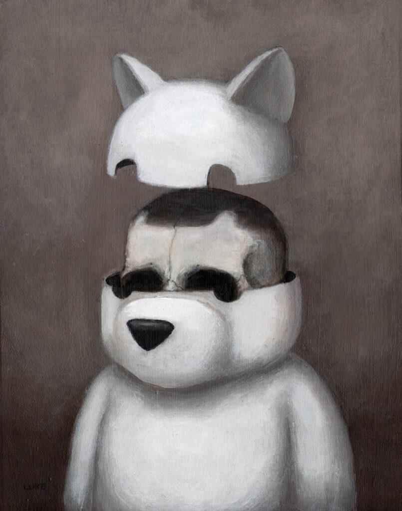 Luke Chueh skull bear