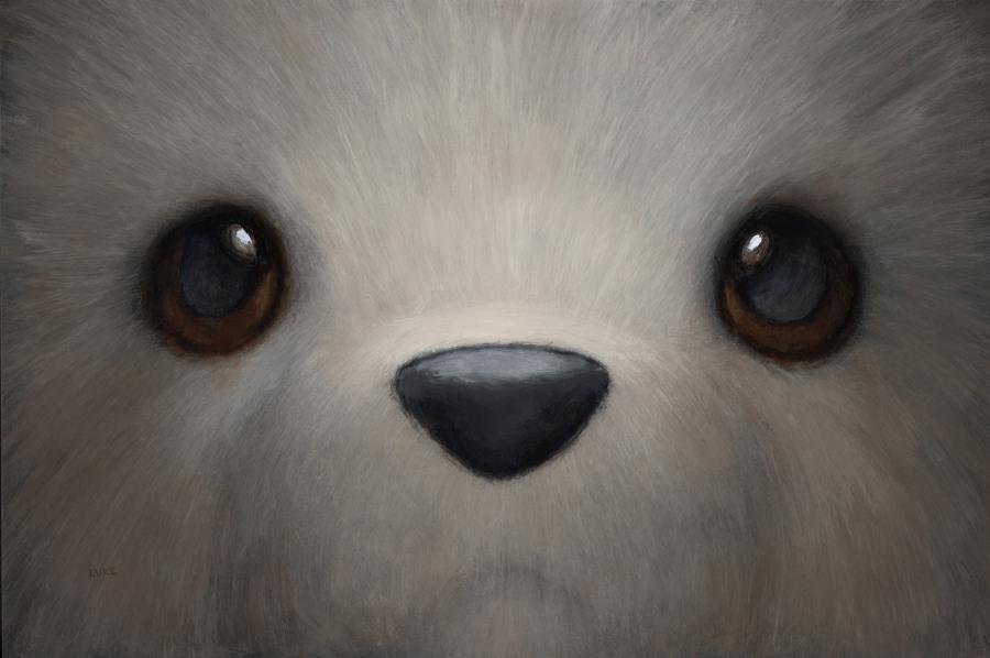Luke Chueh bear Corey Helford Gallery