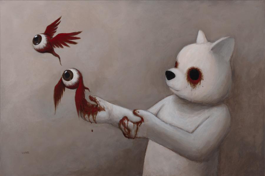 Luke Chueh eyeballs bear