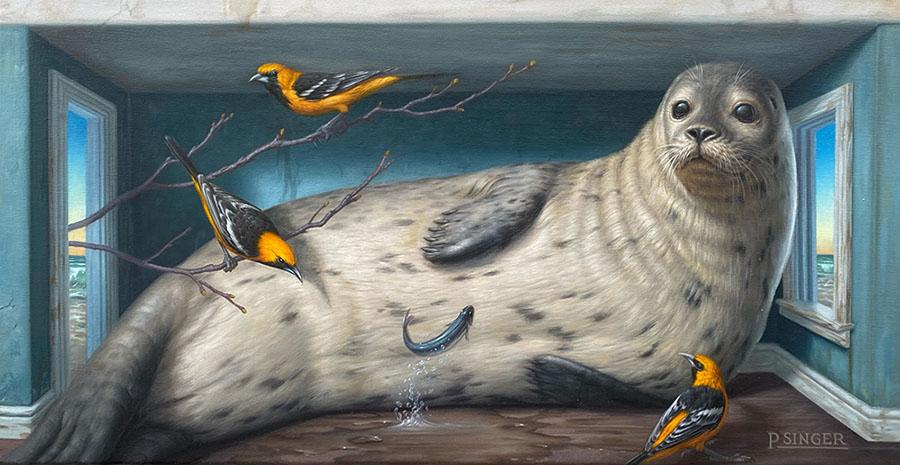 Phillip Singer animal art