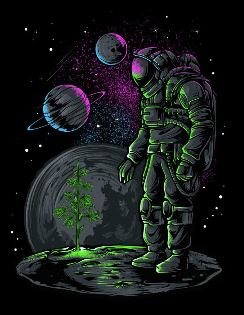 Anang Hidayat digital spaceman universe High Art 2021