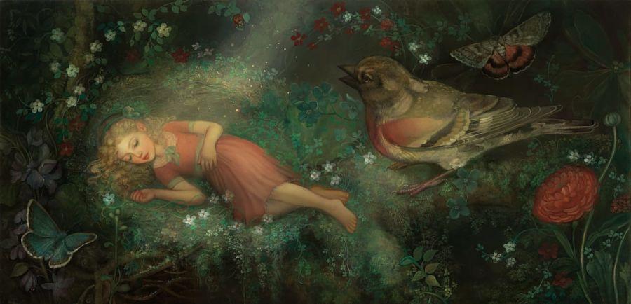 Annie Stegg Gerard painting Haven Gallery