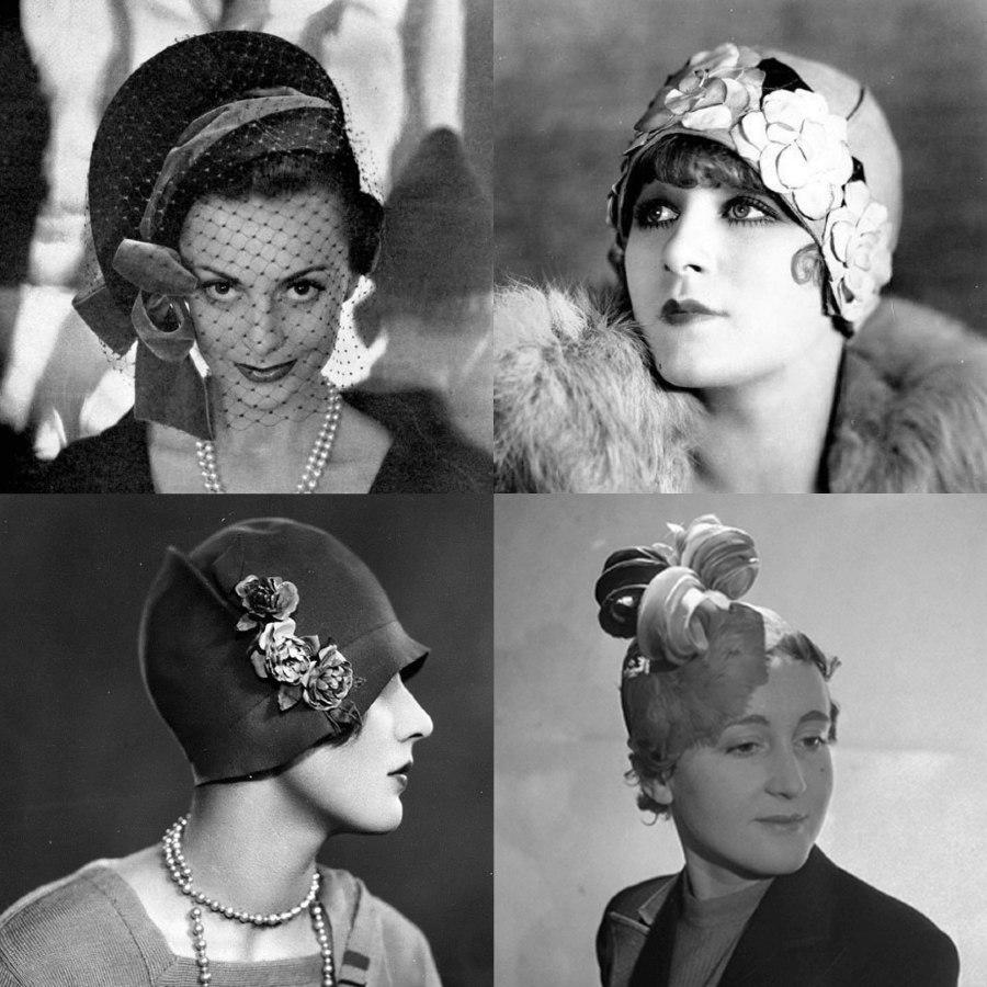 Caroline Reboux Vintage Hats