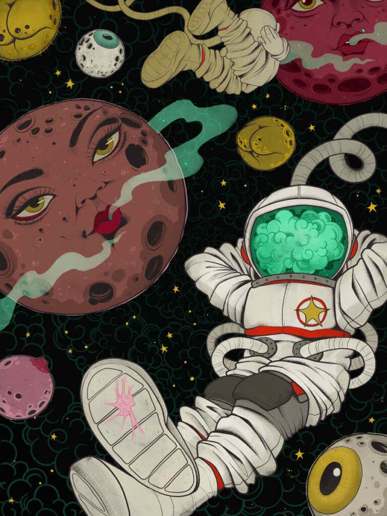 Cecilia Granata astronaut High Art 2021