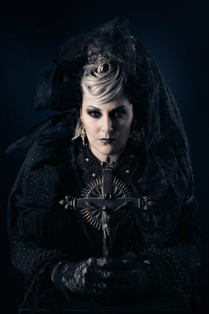 Cedric Brion Studio gothic woman portrait