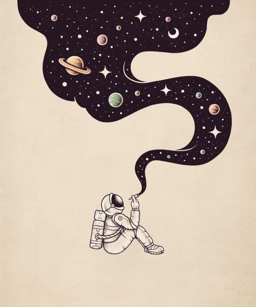 Enkel Dika high art astronaut