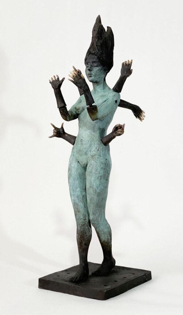 Francesca Dalla Benetta many armed sculpture