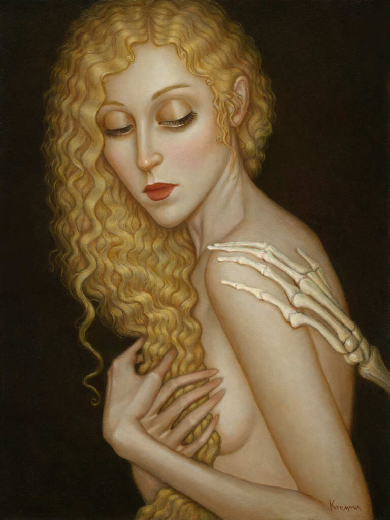 Kremena Chipolova nude blonde woman