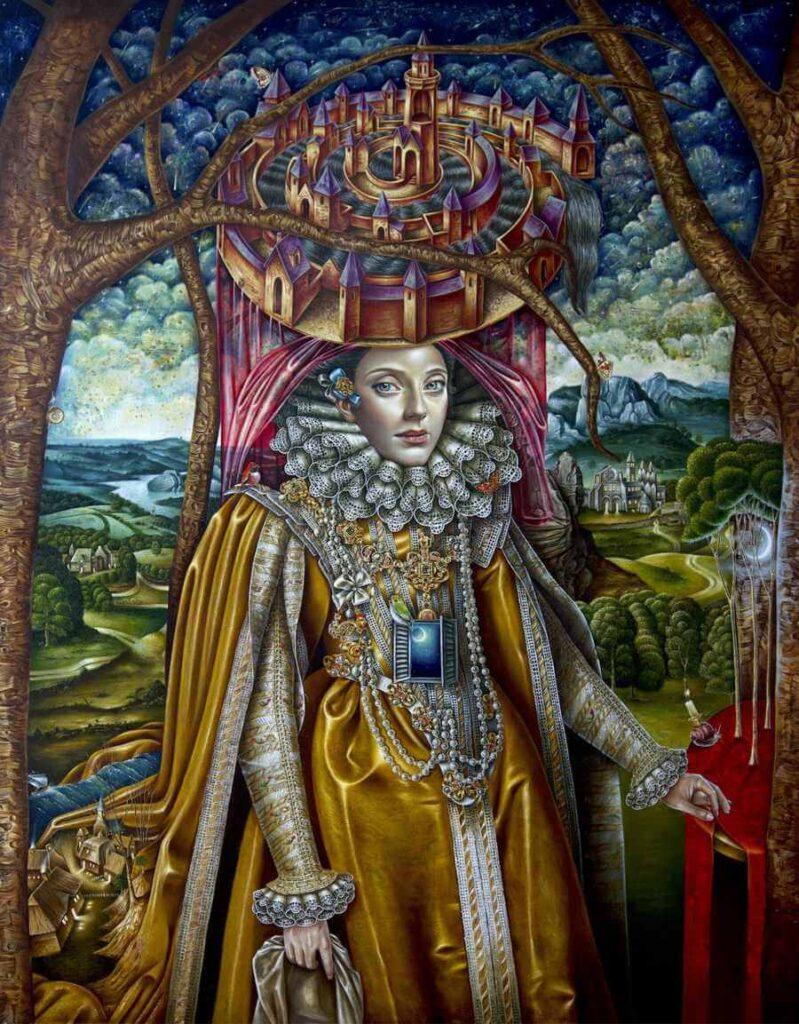 Luis Enrique Toledo del Rio Oil Painting