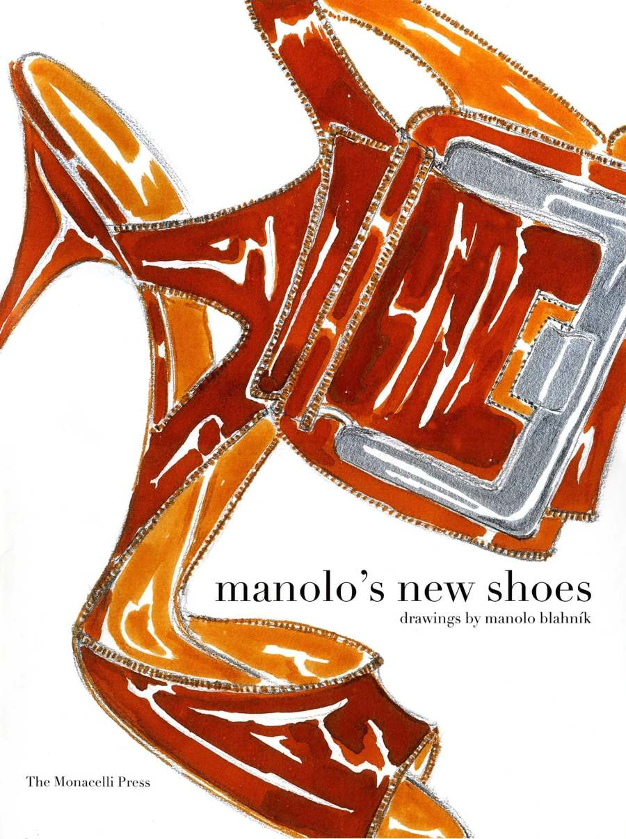 Manolo Blahnik Art Book Cover