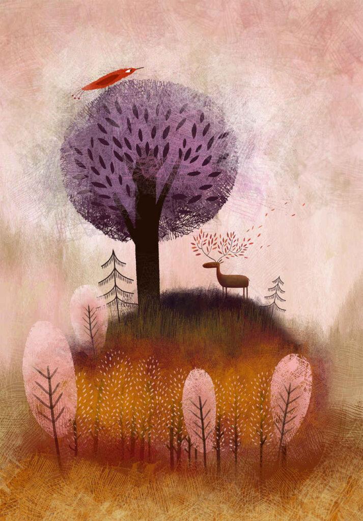 Muhekunstnik tree nature landscape