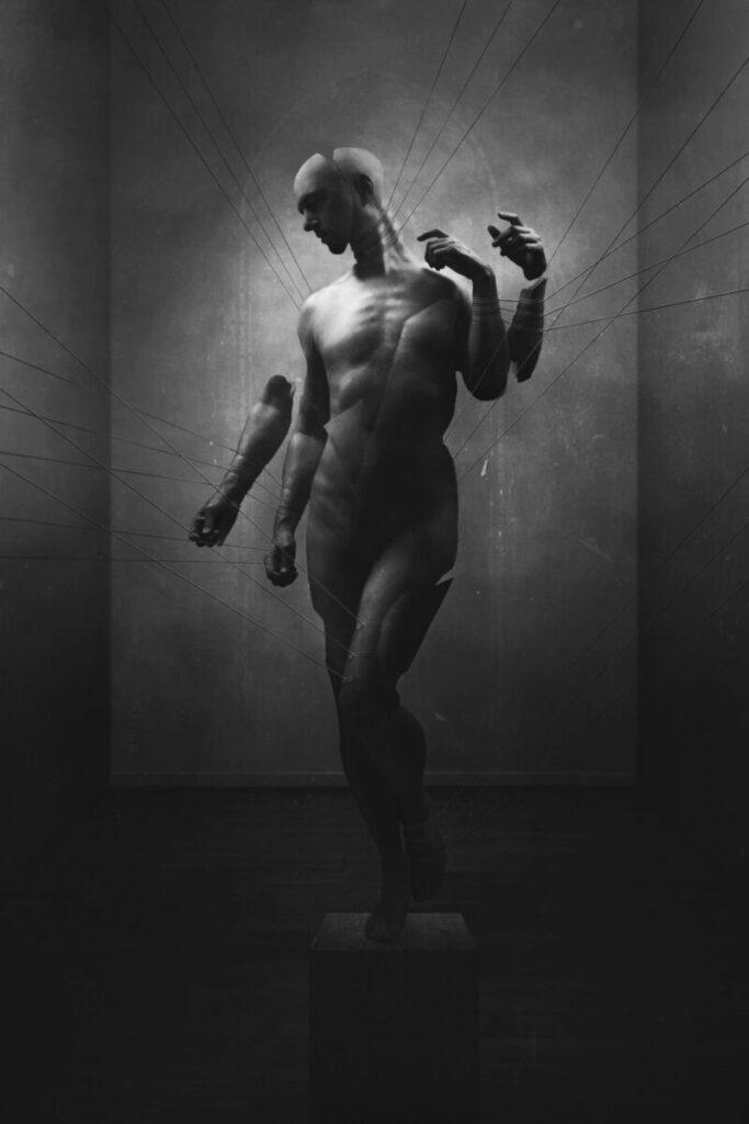 Nihil dark art portrait
