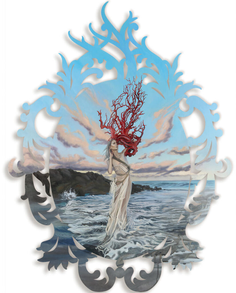 Redd Walitzki surreal sea portrait
