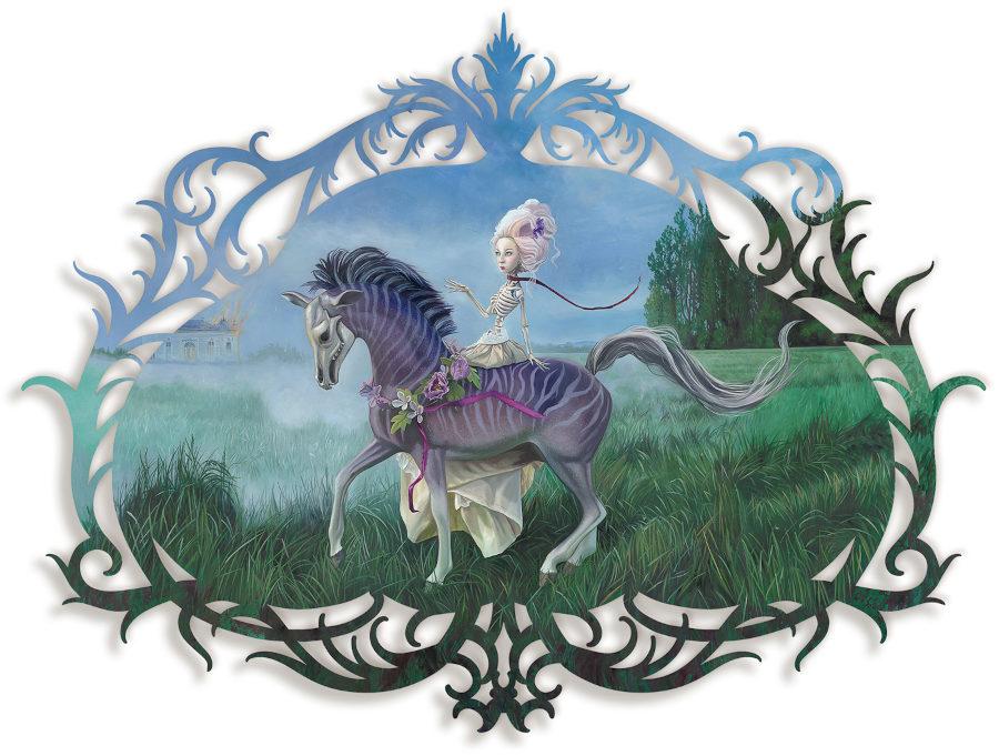 Redd Walitzki horse woman