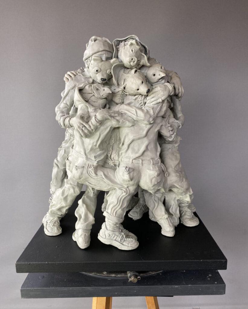 Gary Betts sculpture Beautiful Bizarre Art Prize 2021