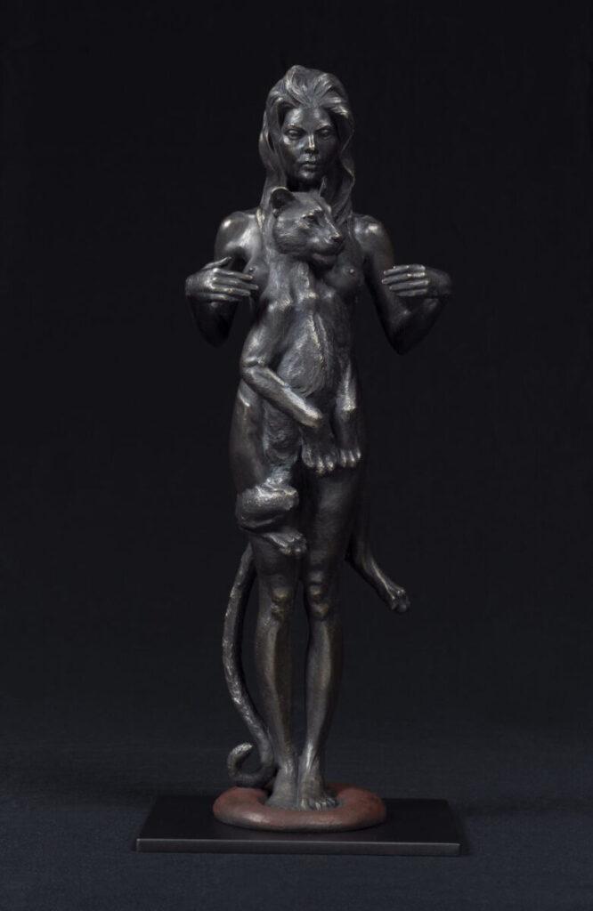 Adam Matano nude woman sculpture