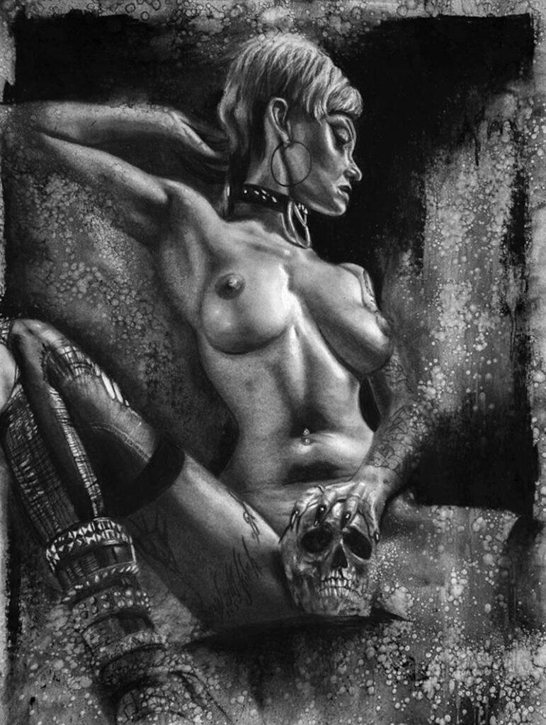 Adam McCarthy nude topless woman