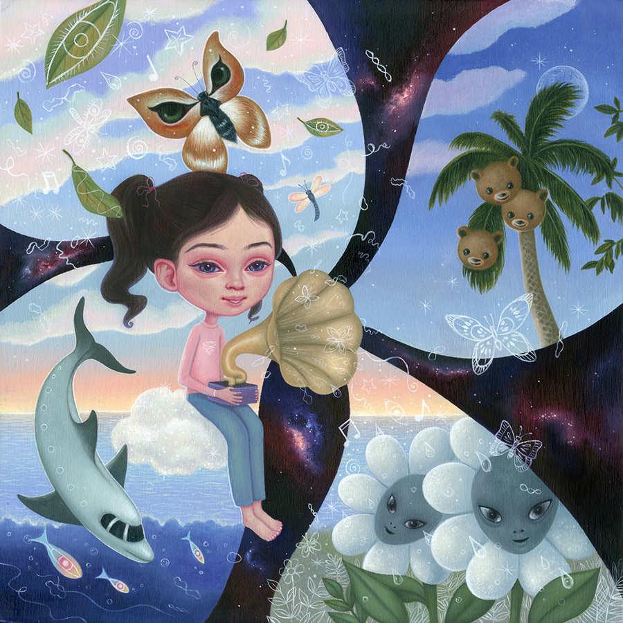 Ana Bagayan spring summer nature painting