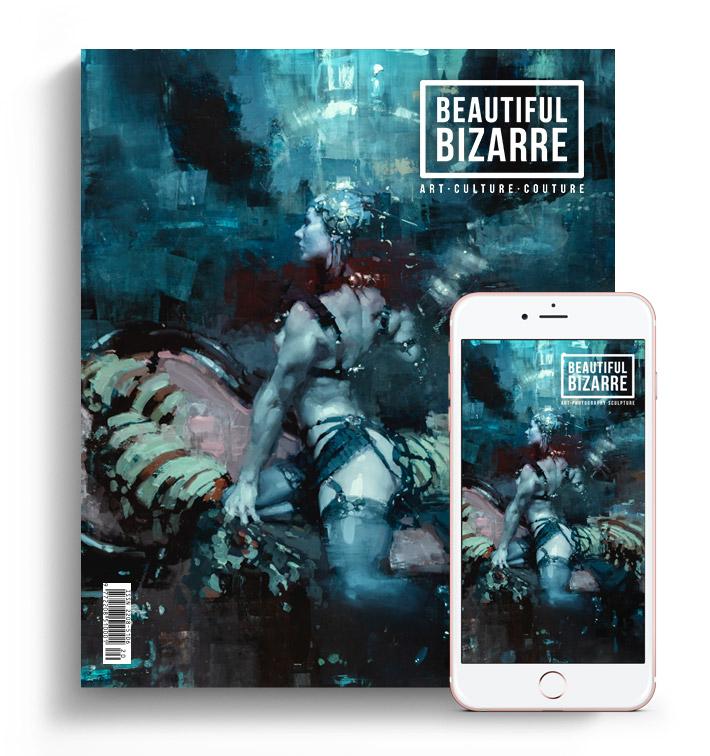 Beautiful Bizarre Magazine - Issue 33 - Jeremy Mann figurative painting