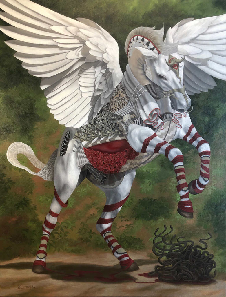 Heidi Taillefer Lucid Dreaming surreal horse