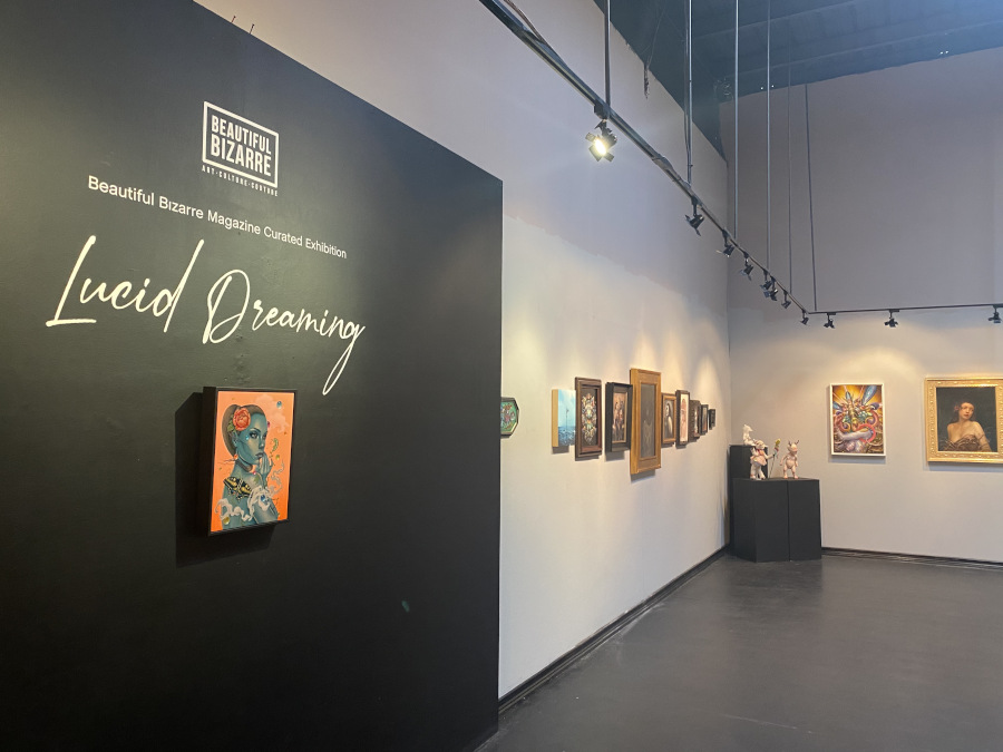 Lucid Dreaming at Copro Gallery