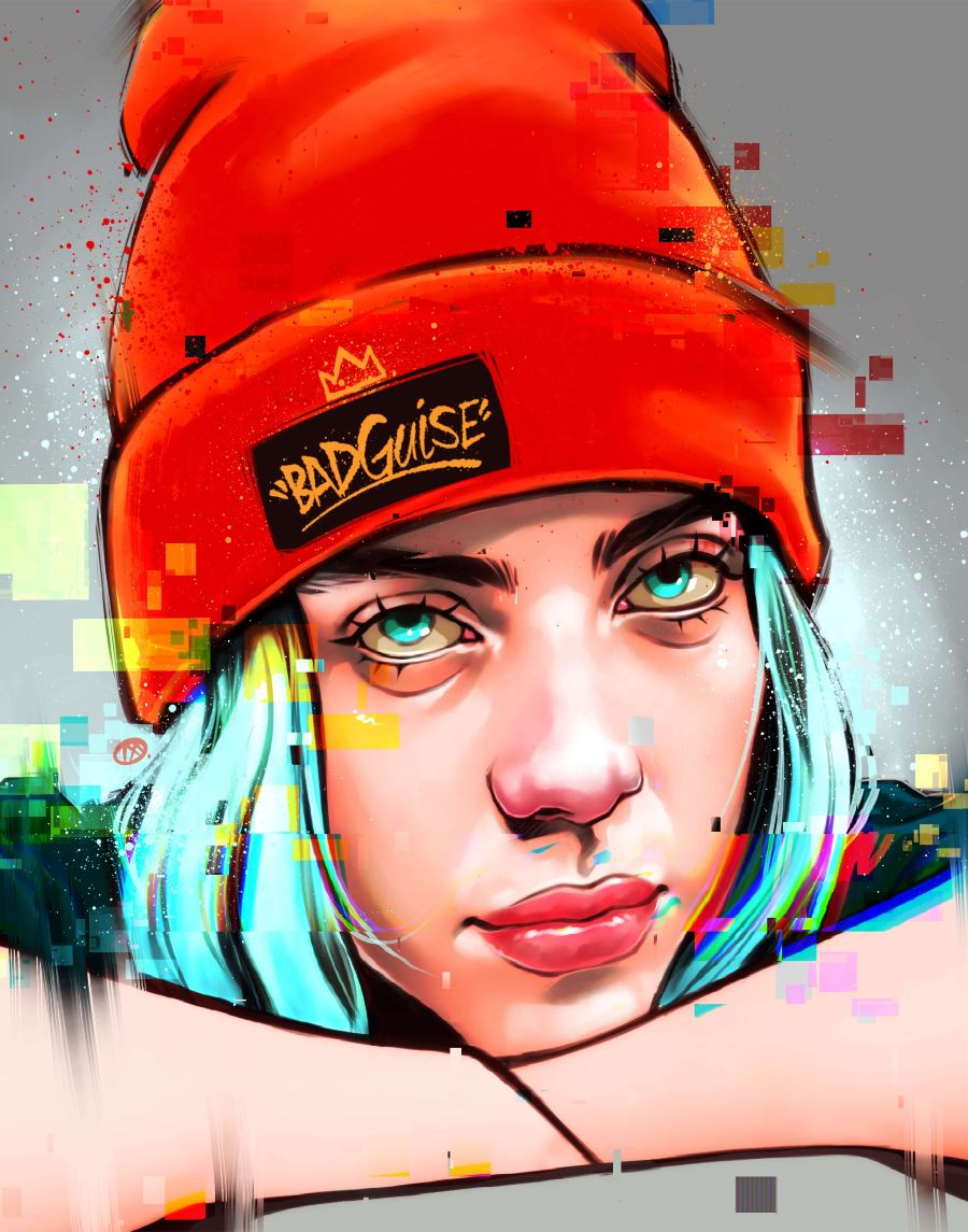 MerkAveli Digital Portrait