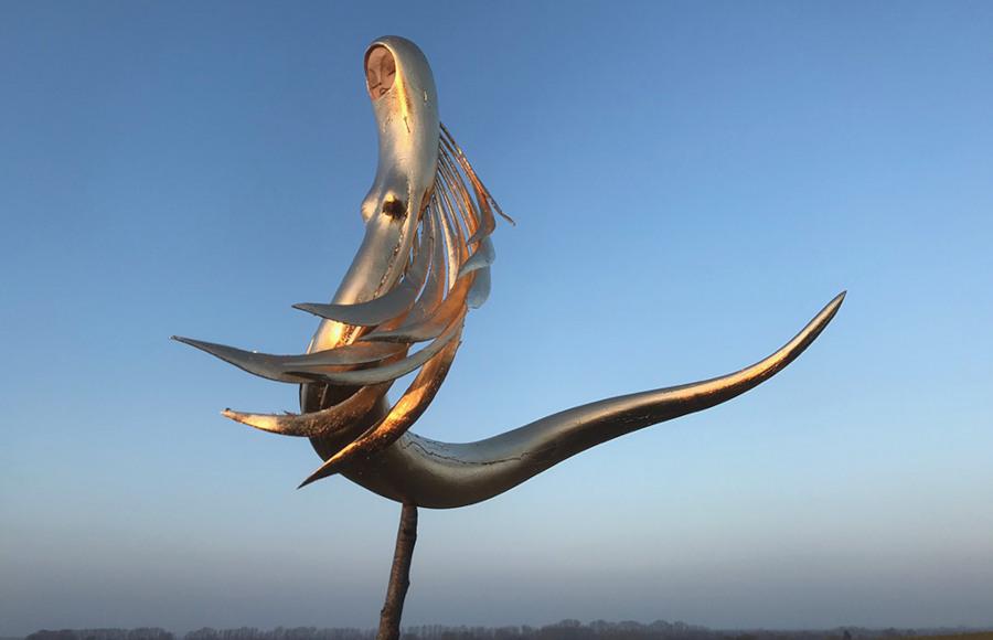 Tach Pollard Lucid Dreaming sculpture