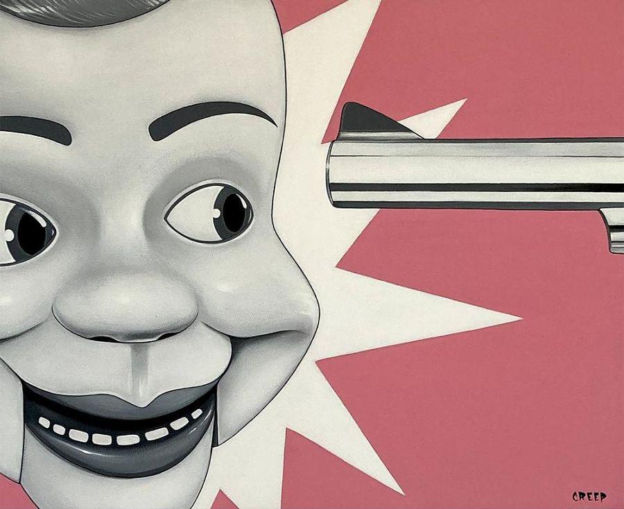 Creep pop surreal artwork The Dark Art Emporium