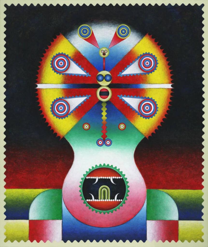 Yu Maeda colourful painting Superchief Gallery